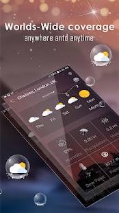 Daily weather forecast Screenshot