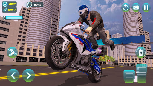 City Bike Driving Simulator-Real Motorcycle Driver screenshots 15