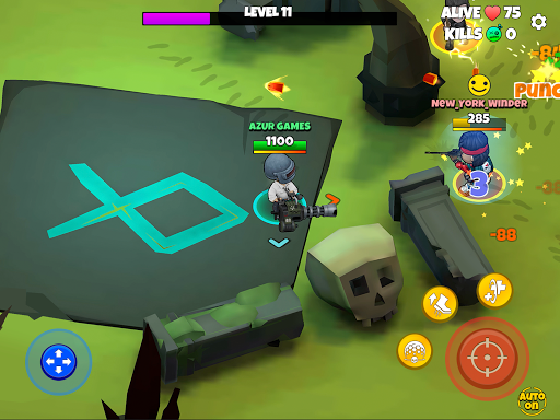 Warriors.io - Battle Royale Action  screenshots 19