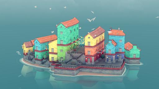 Water Town - Townscaper  screenshots 1