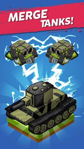 Merge Tanks: Awesome Tank Idle Merger 2.3.8 screenshots 1