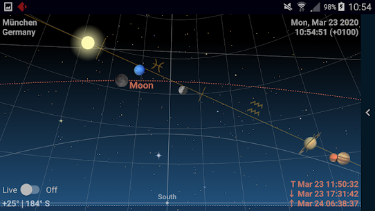 Astrolapp Live Planets and Sky Map 5.2.0.5 Apk 3