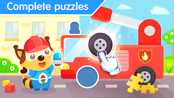 Toddler puzzle games for kids - Match shapes game