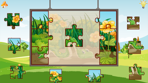 animals puzzle - jigsaw puzzle game for kids screenshot 3