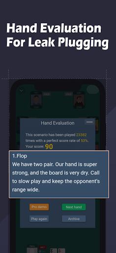 Poker Grasp - Texas Holdu2019em Training Software 3.0.0.2 screenshots 3