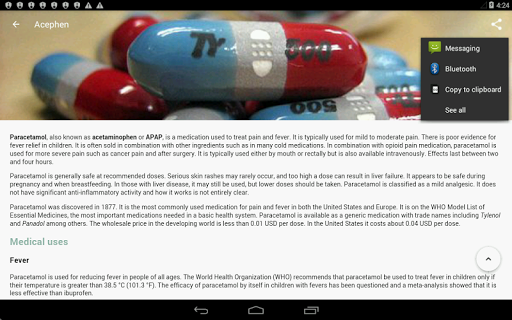 Drugs Dictionary (Free) 3.7.7 Screenshots 21