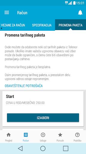 Moj Telenor 1.24 Screenshots 6