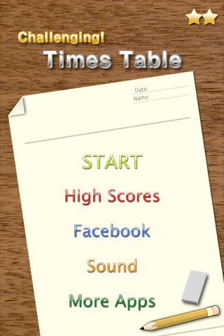 Challenging Timestable 2.2 screenshots 1