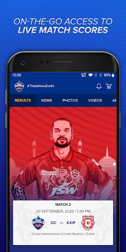 Delhi Capitals Official App  screenshots 1