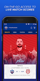 Delhi Capitals Official App