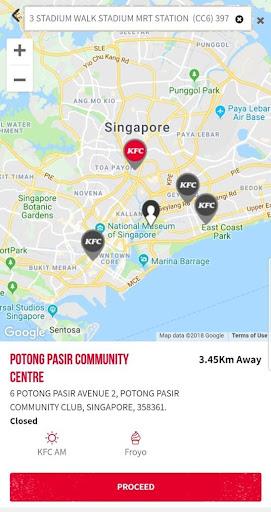 KFC Singapore 6.4 Screenshots 2