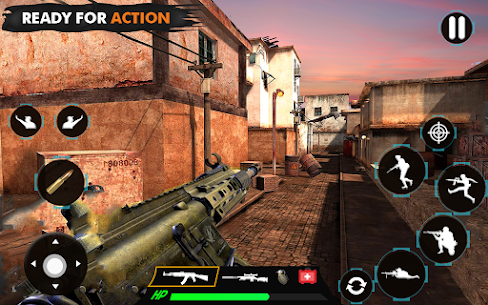 offline shooting game Mod Apk (Dumb Enemy) 5