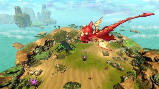 Angry Dragon Land Story - Animal Fantasy War Game 2.1 screenshots 1