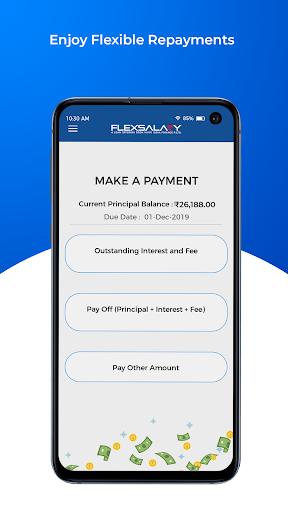 Instant Personal Credit Line Loan App - FlexSalary apktram screenshots 8