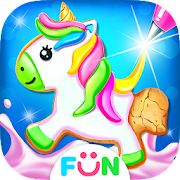 Unicorn Cookie Maker – Sweet Bakery Food Games
