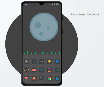 Black Sweet APK- Icon Pack (PAID) Download Latest Version 1
