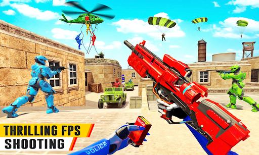 US Police Robot Counter Terrorist Shooting Games  Screenshots 7