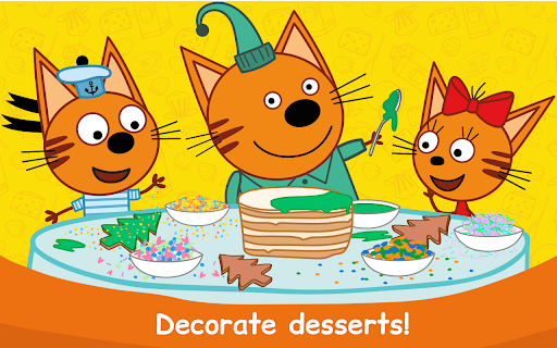 Kid-E-Cats: Cooking for Kids with Three Kittens!  screenshots 18