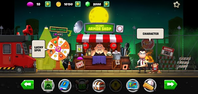 Zombie VS Slugger MOD APK 1.0.12 (Unlimited Money) 1