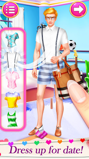 High School Date Makeup Artist - Salon Girl Games 1.1 screenshots 3