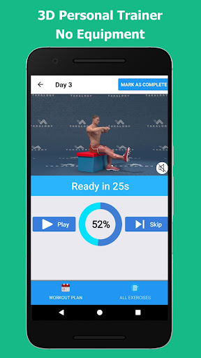 Strong Legs in 30 Days - Legs Workout 1.1.7 Screenshots 5