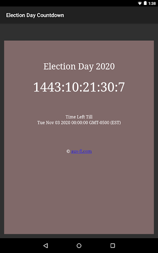 US Presidential Election Day 2020 Countdown 2.0 screenshots 3