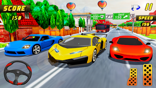 Car Racing in Fast Highway Traffic 2.1 screenshots 14
