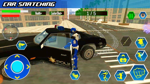 Police Robot Speed hero: Police Cop robot games 3D 5.2 Screenshots 6