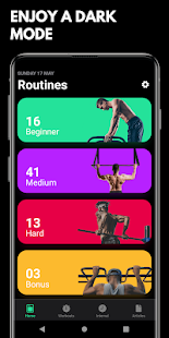 Street Workout App Screenshot