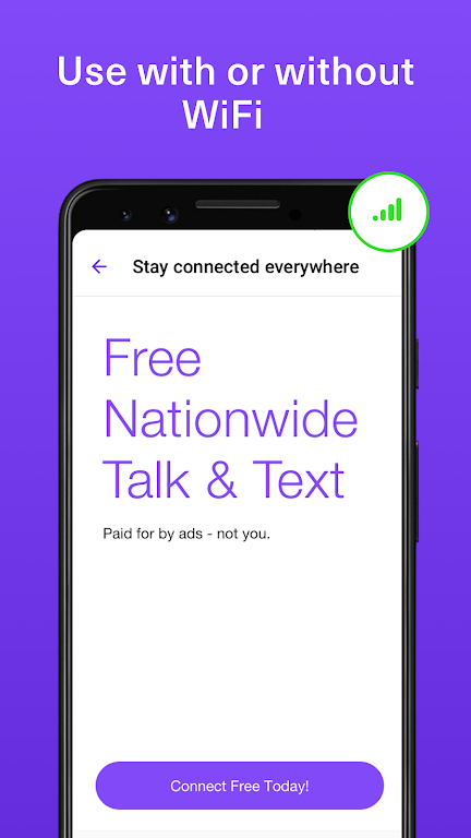 TextNow: Free US Calls & Texts poster 2