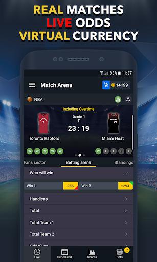 Sports Betting Game - BETUP  screenshots 1