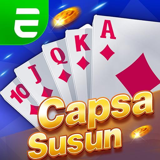Capsa susun poker bonus  remi  gaple domino online