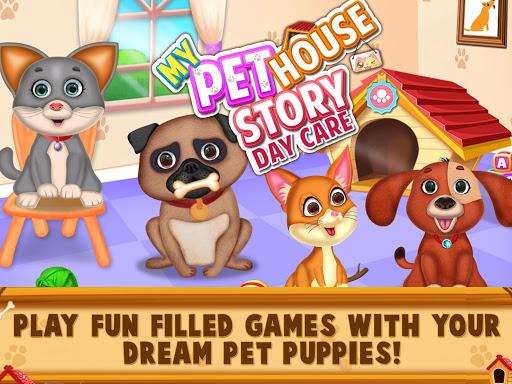 Code Triche My Pet House Story - Pet Puppy Daycare games APK MOD  (Astuce) screenshots 1