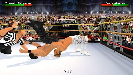 Wrestling Revolution 3D Mod APK (Unlocked Everything) 2