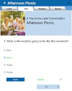 English Conversation Practice 1.3.6 Screenshots 10