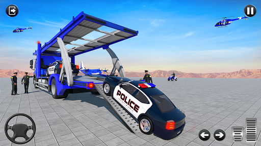 Grand Police Vehicles Transport Truck  Screenshots 17