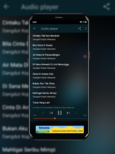 Dangdut Koplo Spesial Lagu Malaysia Offline  screenshots 2