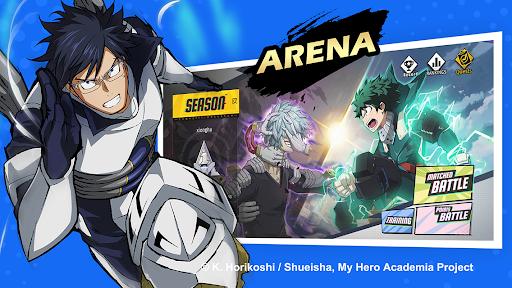 Télécharger Gratuit My Hero Academia: The Strongest Hero APK MOD (Astuce) screenshots 4