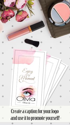 Makeup Artist Logo Design Maker  Screenshots 4