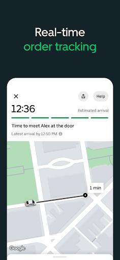 Uber Eats: Food Delivery screenshots 2