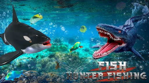 Underwater Fish Hunting adventure game 2021 screen 1