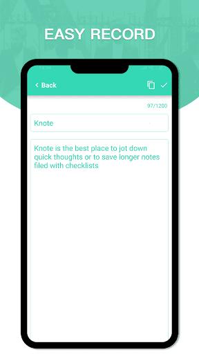 Knote screen 2