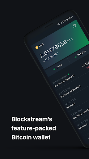 Green: Bitcoin Wallet  screenshots 1