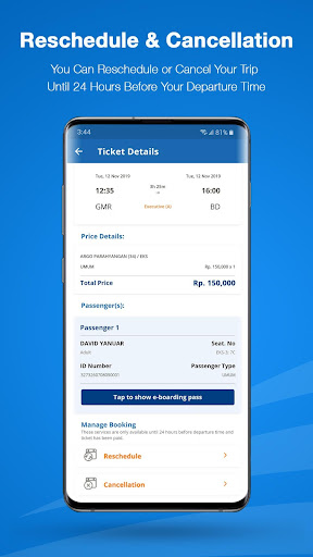 KAI Access: Train Booking, Reschedule, Cancelation 4.4.1 Screenshots 7