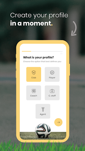 makeclub - looking for your chance in football? screenshot 2