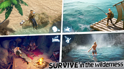 LOST in Blue: Survive the Zombie Islands apktram screenshots 3