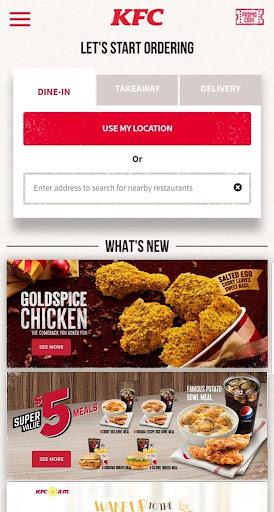 KFC Singapore 6.4 Screenshots 1