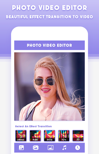 Photo Video Editor With Music screenshots 1