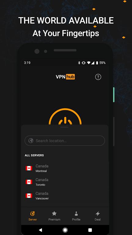 VPNhub Best Free Unlimited VPN - Secure WiFi Proxy  poster 2