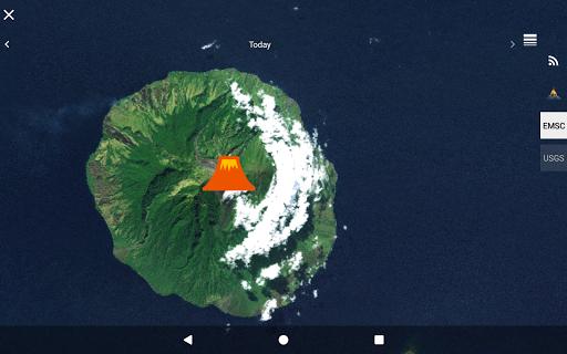Quake & Volcanoes: 3D Globe of Volcanic Eruptions  Screenshots 10